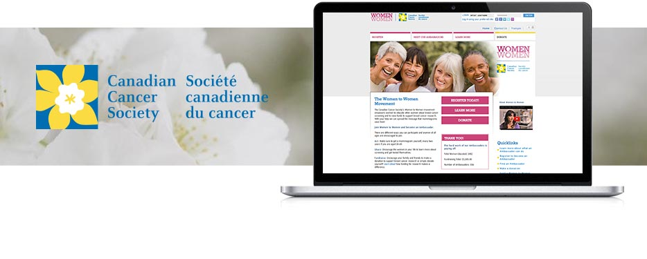 Canadian Cancer Society Drupal Multi-site Campaign Platform