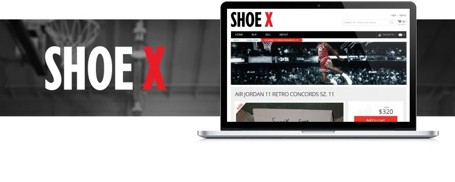 SHOE X, Drupal E-commerce Marketplace