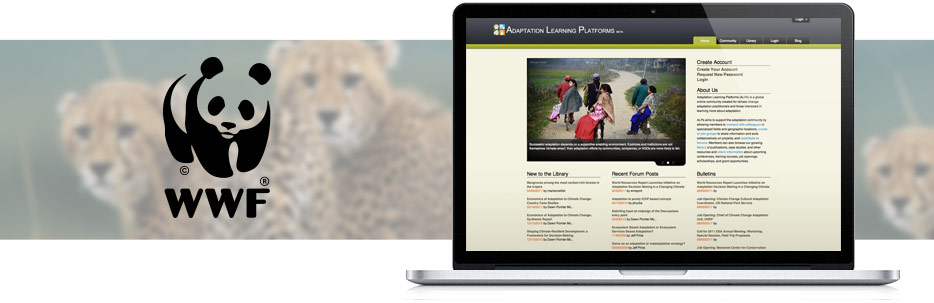 World Wildlife Fund Adaptation Learning Platform