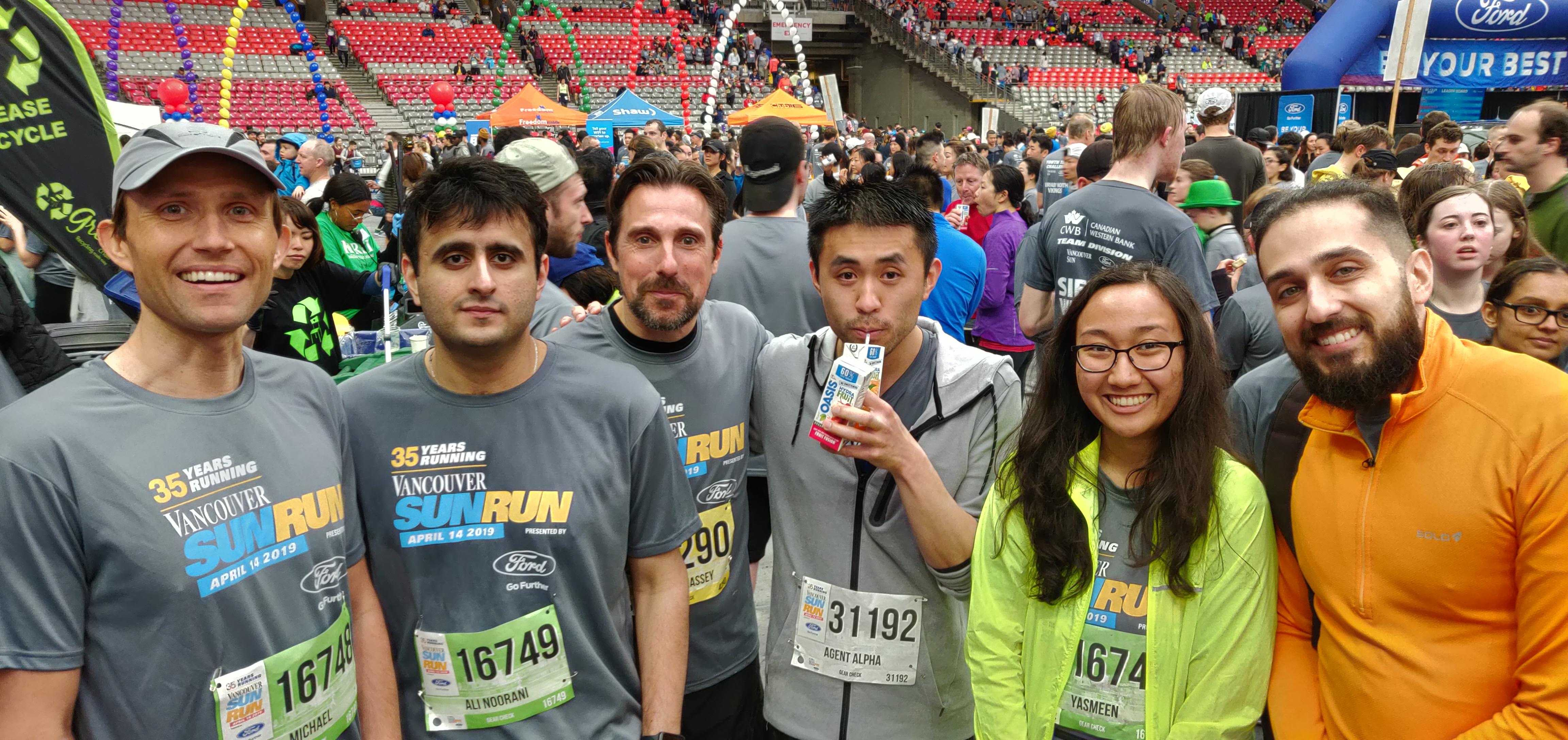 Vancouver Sun Run Appnovation