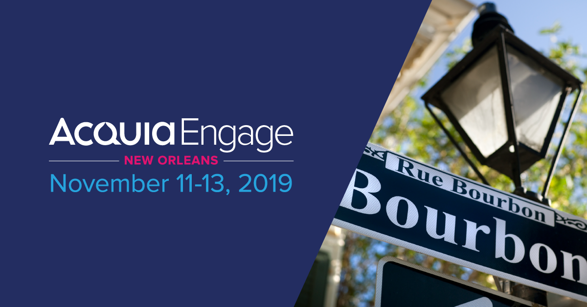 Acquia Engage 2019