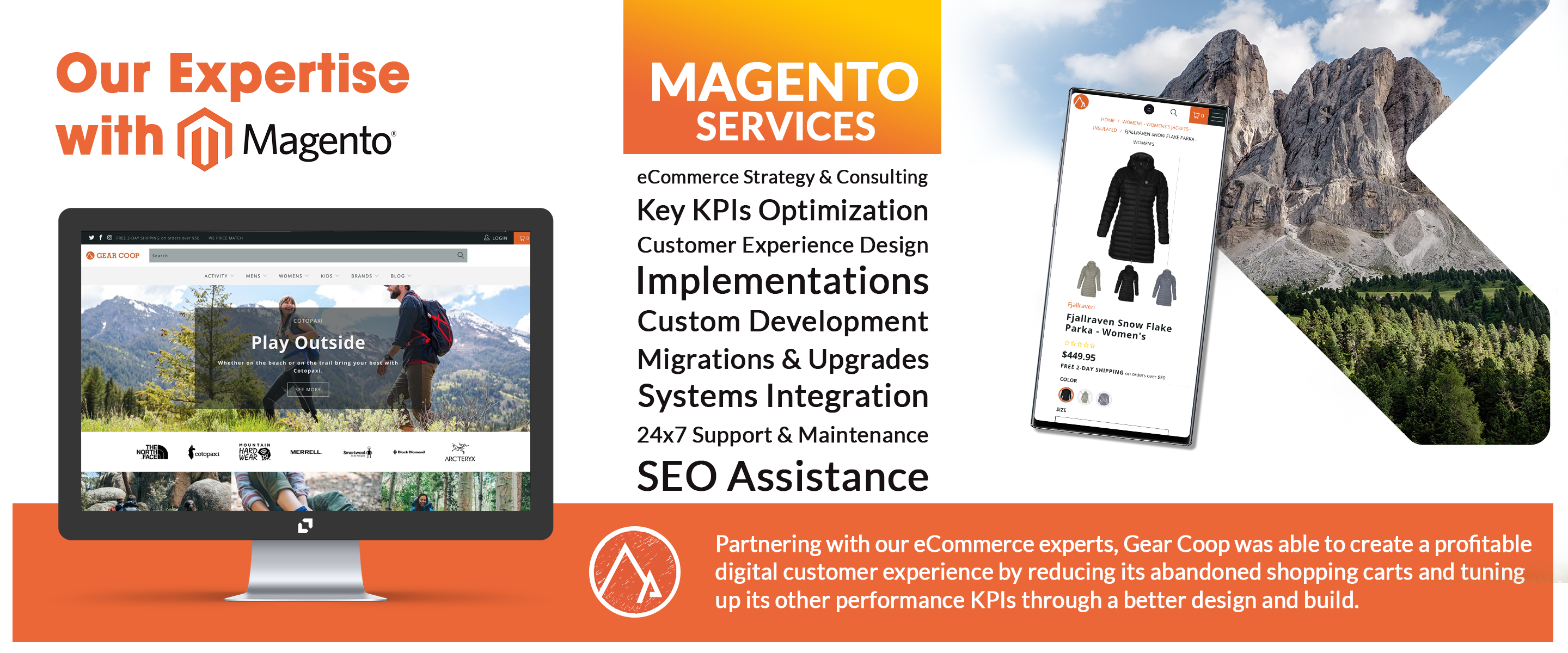 Magento ecommerce development, magento ecommerce development services