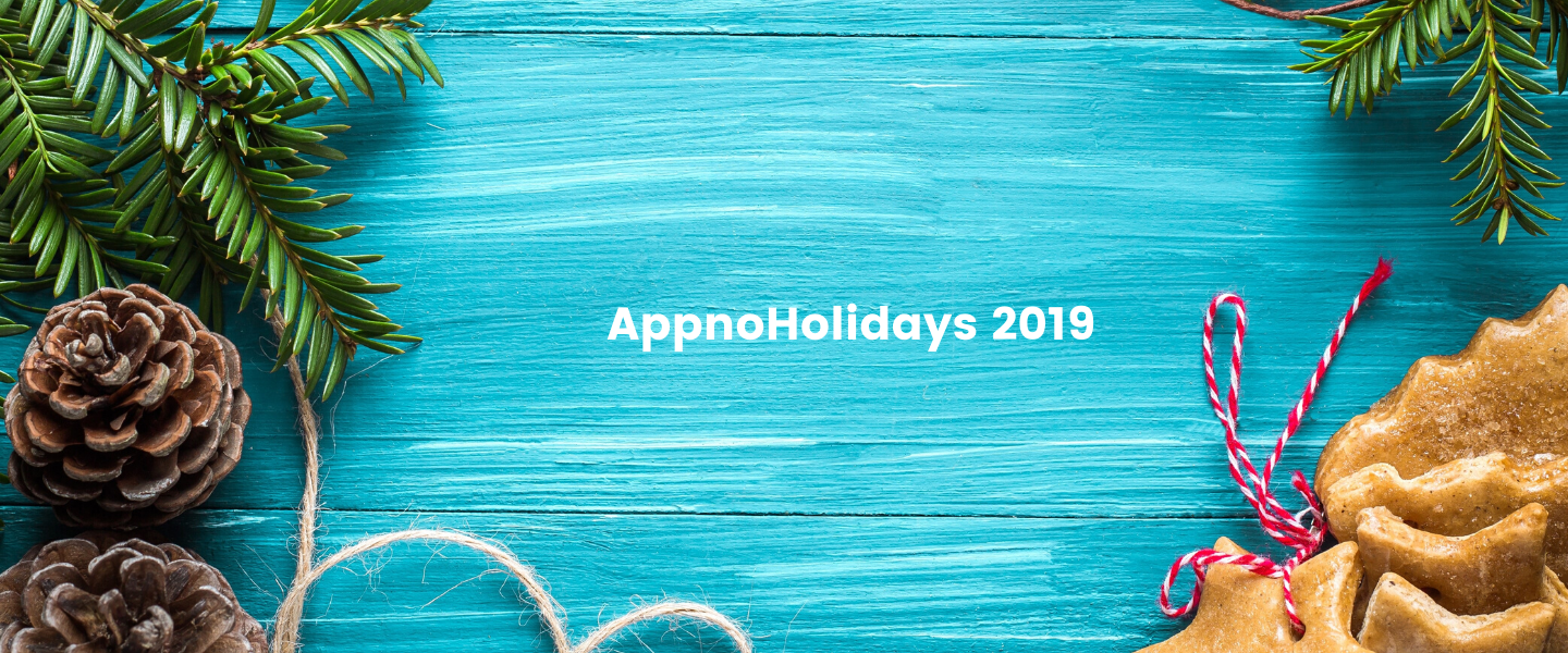 AppnoHoliday Giving Wrap-Up