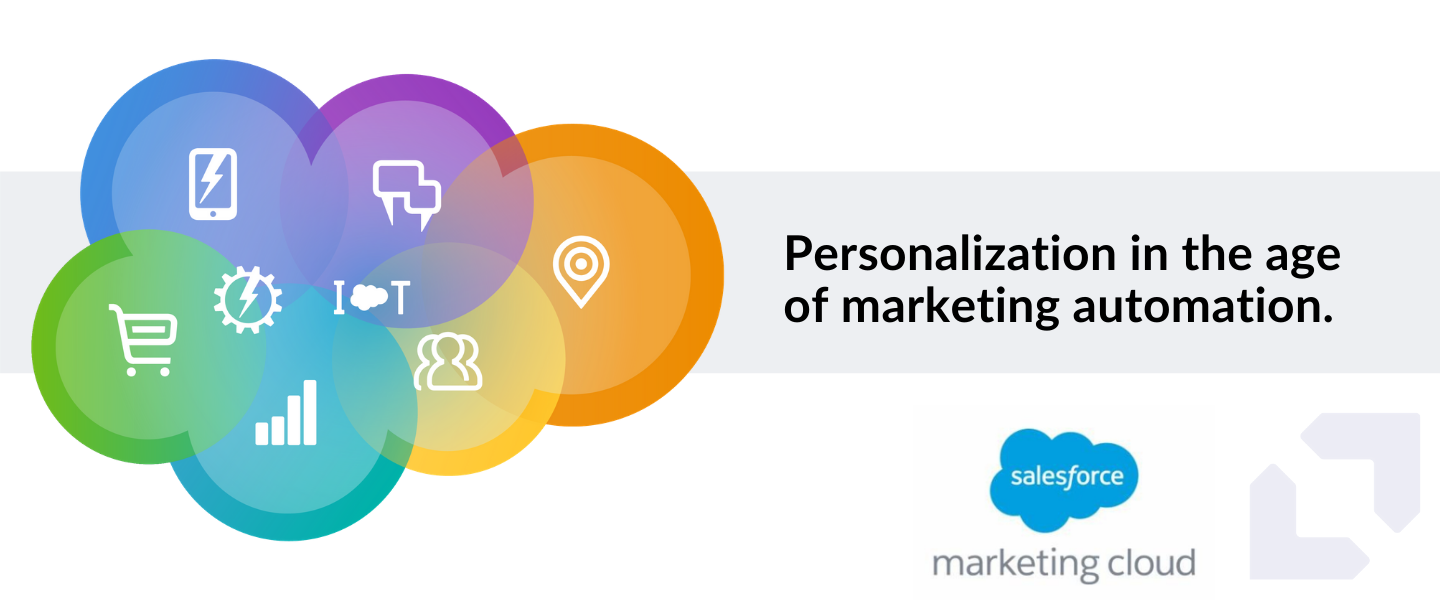 Personalization in the age of marketing automation: An intro to Salesforce Marketing Cloud