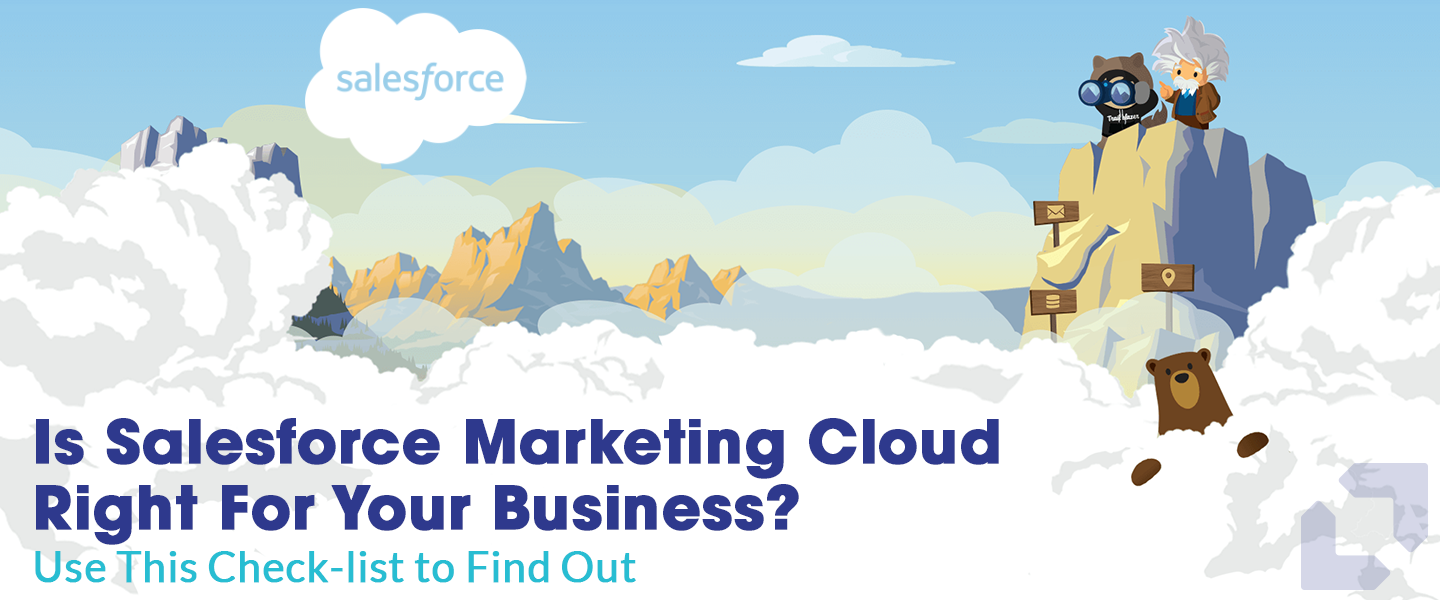 Is Salesforce Marketing Cloud Right For Your Business? Use This Check-list to Find Out