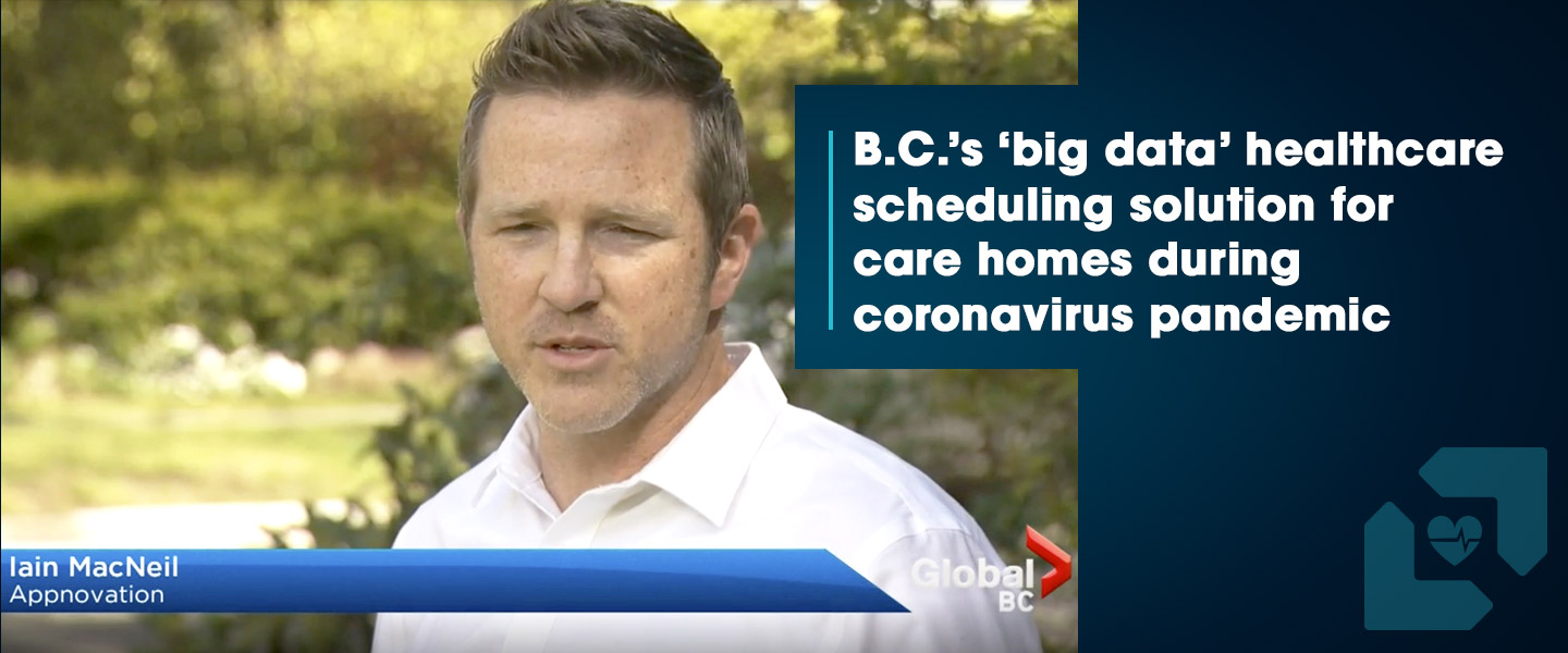 Global News BC: Appnovation's Big Data Solution for Lessening Risk of COVID-19 Cross-Contamination