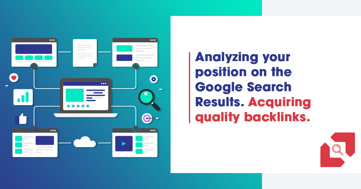Analyzing your position on the Google Search Results.  Acquiring quality backlinks.