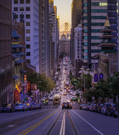 Visit California, San Francisco Street, San Francisco Bridge