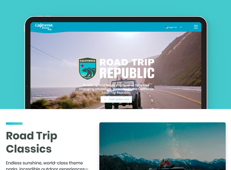 Visit California Road Trips Case Study