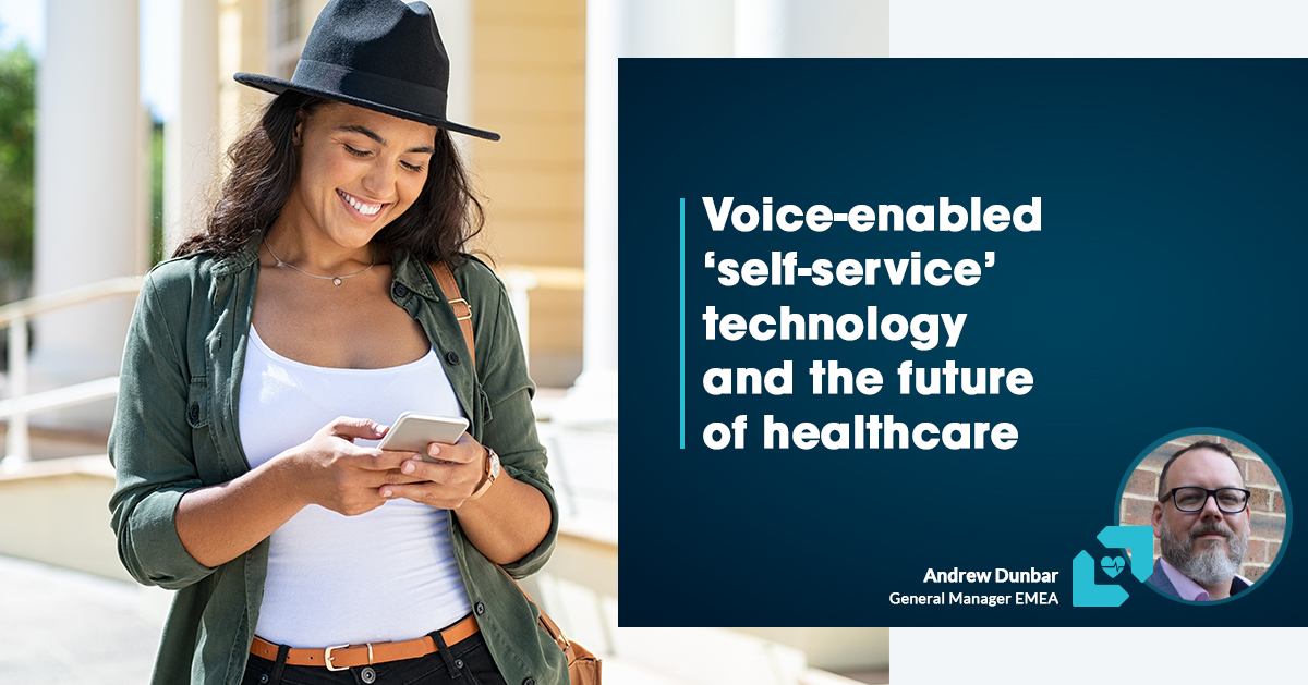 How VoiceTech can relieve stress on healthcare post COVID-19
