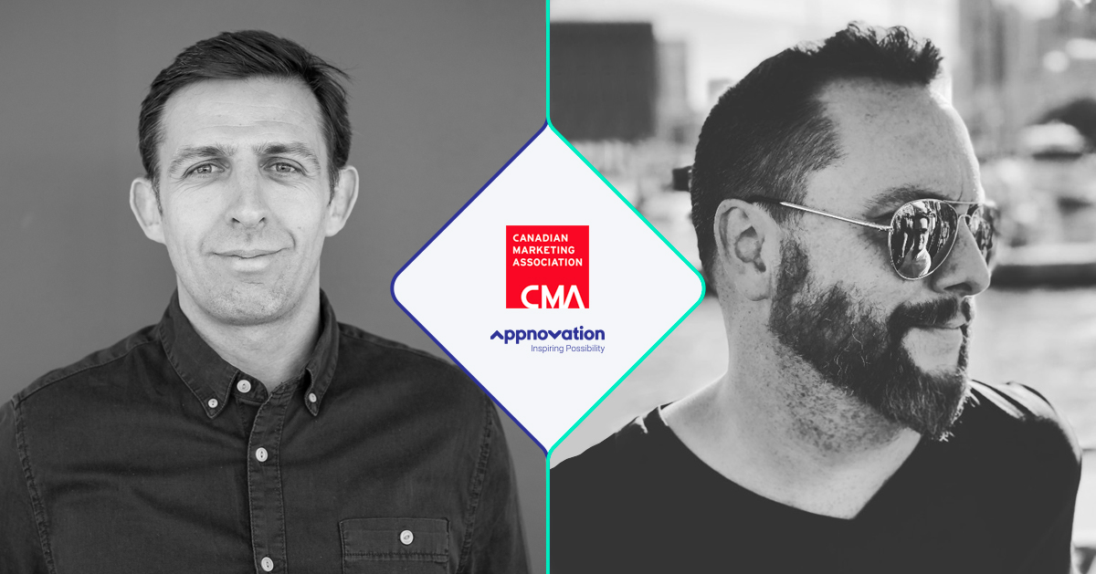 Two senior leaders at Appnovation named to Canadian Marketing Association Councils