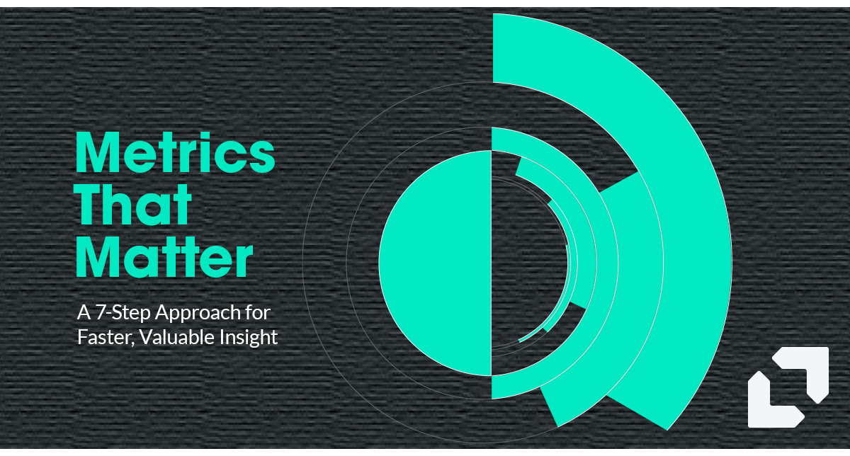 Metrics that Matter. A 7-Step Approach for Faster, Valuable Insights