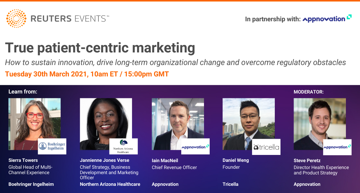 Reuters Pharma Webinar: How to Practice Patient Centricity