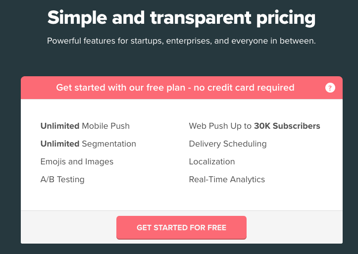 Freemium Segment Pricing for Push Notifications by OneSignal.png