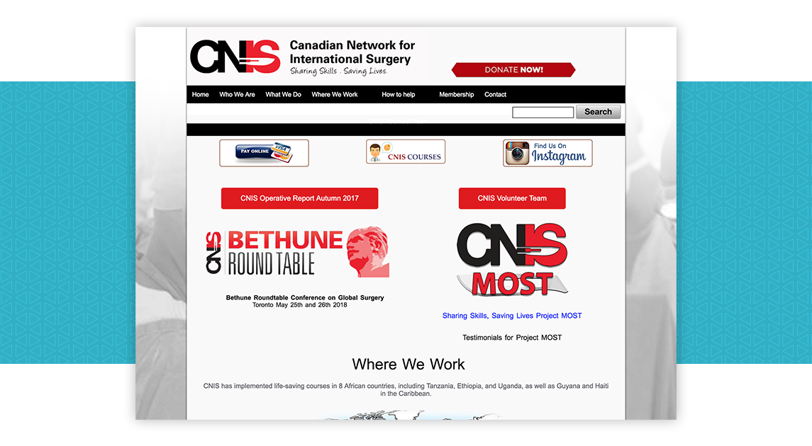 Canadian Network for International Surgery (CNIS)