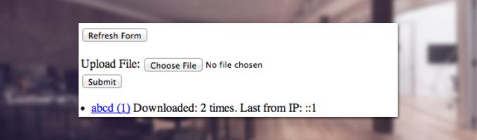 GAE file uploader with a download counter | Appnovation