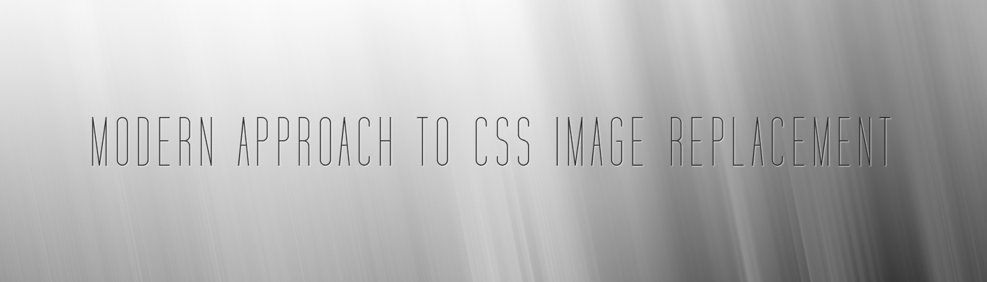 Modern Approach To CSS Image Replacement | Appnovation