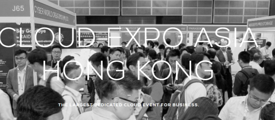 Cloud expo asia, hong kong, 2019